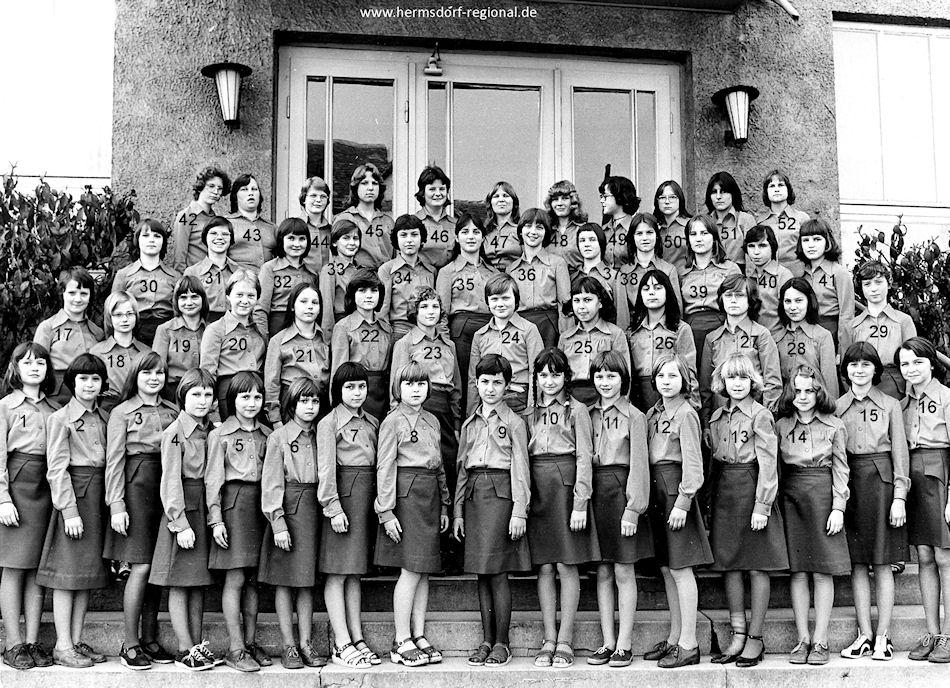 1984 FDJ Chor im Kinder- und Jugendensemble im Kulturhaus ...